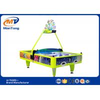 Buy cheap Indoor Playground Yellow Arcade Air Hockey Table 4 Players For Game Center from wholesalers