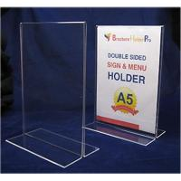 Wholesale Manufacturer supplies elegant and high quality acrylic menu holder from china suppliers