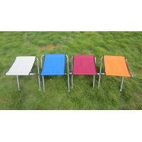 Wholesale Lightweight Colorful Aluminum Portable Folding Beach Chairs Fising Stool Double Layer from china suppliers