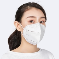 Wholesale KN95 GB2626 Non Woven 4 Layer Disposable Face Mask With Earloop from china suppliers
