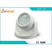 Wholesale Fulcrum Adjustable Motion-Sensor LED Automatic Porch Light with 10pcs SMD Led from china suppliers
