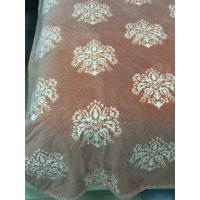 Wholesale Dyed / Burnout Bedding Article Crystal Velboa Home Two - Sides Edged Throw from china suppliers