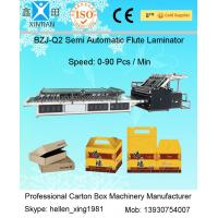 Wholesale 1450mm Carton Box Making Machine Corrugated Paper Board Flute Laminator Machine from china suppliers