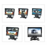 Wholesale 7 inch TFT LCD car backup monitor car quad monitor 4 channel truck monitor reversing monitor from china suppliers