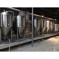 Wholesale 2000L Large Scale Brewing Equipment 304 Sanitary Pumps With VFD Controls from china suppliers