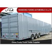 Wholesale Vehicle Transport Enclosed Semi Trailer , 8-12 Sets Car Carrier Semi Trailer from china suppliers