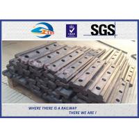 Wholesale 4 Holes BS80A Railway Fish Plate Rail Joint Bars steel fish plates With Plain Colors from china suppliers