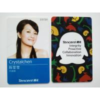 Wholesale Tencent Custom Photo ID Cards with Electrical IC Card Function from china suppliers