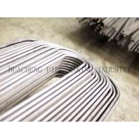 Wholesale EN10216-2  / EN10210-1 PED ERW Steel U Bend Heat Exchanger Tube 25.4mm * 2.11mm from china suppliers