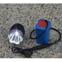 Wholesale High Power 3 Modes CREE XML T6 Rechargeable Aluminum Led Bike Light Headlamp from china suppliers