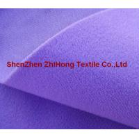 Wholesale 100% nylon colored brushed /napped loop fastener fabric for garment from china suppliers