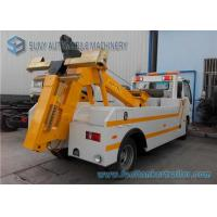 Wholesale ISUZU wrecker tow truck heavy duty 7000 Kg Max Designed Towing Weight from china suppliers