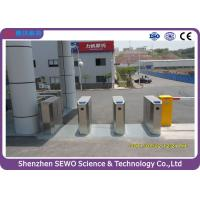 Wholesale RFID Card or Barcode Ticket Access Control Flap Barrier Turnstile from china suppliers