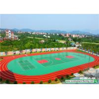 Wholesale Weather Resistant Rubber Running Track Mixed Basketball Court Durable from china suppliers