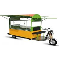 Wholesale Large Capacity Electric Food Truck / Cart With Battery Operated from china suppliers