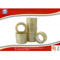 Wholesale Custom Clear BOPP Packaging Tape , 50m Length Carton Sealing Adhesive Tape from china suppliers