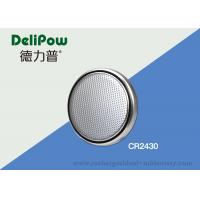 Quality Button Cell Battery CR2430 For Low - Power Electronic Equipment for sale