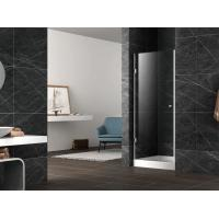 Wholesale Pivot shower door with stainless steel 304 hinge and knob,3/8 inches clear tempered glass from china suppliers