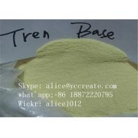 Wholesale Yellow Crystal Powder Trenbolone Base 10161-33-8 Safe Muscle Building Steroids from china suppliers