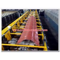 Wholesale Round Profiled Aluminium & Steel Roof Ridge Capping Sheet Cold Roll Forming Machine from china suppliers