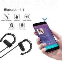 Wholesale Black / Red / Gold / Blue Mobile Bluetooth Headset Noise Cancel For Samsung LG Iphone from china suppliers
