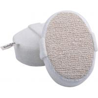 Wholesale Dot Hemp Polyester Terry body scrubber for shower , Natural Pad For Skin Cleaning from china suppliers