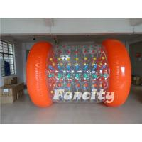 Wholesale 2.8m Length Inflatable Rolling Ball , Roll Inside Inflatable Ball For Water Park from china suppliers