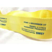 Wholesale Eco - Friendly Narrow Nylon Elastic Woven Tape Woven Name Tapes 30D / 50D / 100D Yarn from china suppliers