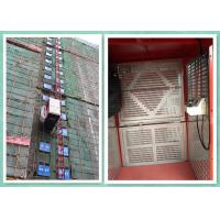 Wholesale Single / Twin Cage Building Construction Site Hoist , Man And Material Elevator from china suppliers