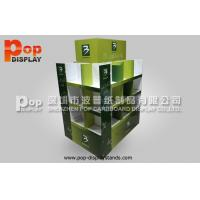 Wholesale 4 Sides Cardboard Pallet Display Stand Heavy Duty With 3 Tiers from china suppliers