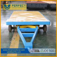 Buy cheap High Load Capacity High Efficient No Power Trailer For Railway Stations from wholesalers