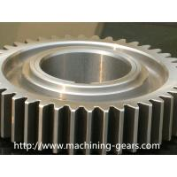 Wholesale CNC Machined Aluminum Spur Gears Toothed Wheel For Textile Machinery / Lathe from china suppliers