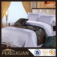 Quality Hotel duvet cover sets 100% cotton bedding set for 5 starts hotel PX-DC1 for sale