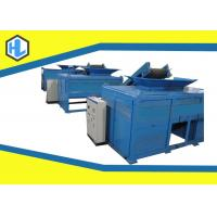 Wholesale Metal / Steel Scrap / Pvc Waste Shredder Machine High Capacity 21 RPM Shaft Speed from china suppliers