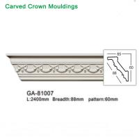 Wholesale Top Grade PU Foam White crown molding ceiling cornice for interior decoration from china suppliers