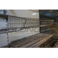 Wholesale 0.8mm Kick Metal Wire Baskets Gondola Shelving Accessories SGL-J-54 from china suppliers