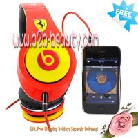 Quality Monster beats by dre studio Headphones Ferrari-Limited Edition for sale