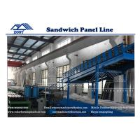 Wholesale Roof and Wall PU Sandwich Panel Making Line FOR 1000mm Effective Width Color Steel from china suppliers