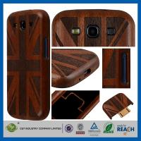 Wholesale British Flag bamboo Cell Phone Case , Whatproof Thin Durable Samsung S3 Case from china suppliers