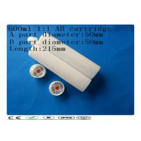 Wholesale Two component 600ml 1:1 adhesive barrel , industrial AB glue cartridge from china suppliers