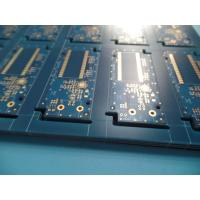 "Quality 4U "" Thick Immersion Gold Pcb Fr4 Blue Matt Type Mask Inner Layer Half Ounce for sale"