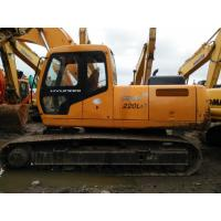 Buy cheap Used Hyudai excavator 220LC-5 for sale from wholesalers