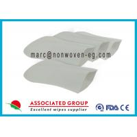 Wholesale Soft Hospital Patient Wet Wash Glove Embowed Bio Degradable Smooth from china suppliers