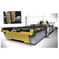 Continuous Up - Down Cutting Automatic Fabric Cutter Machine 75mm Thickness