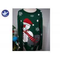 Wholesale Christmas Snowman knit Pullover Sweater For Adult And Children from china suppliers