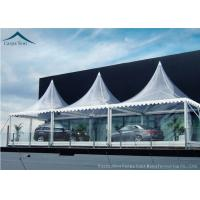 Wholesale White Marquee Pagoda Shape  Exhibition Event Tents For Conference from china suppliers