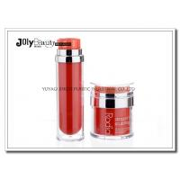 Wholesale PP Material Red Plastic Empty Makeup Containers Bottles Capacity 80ml from china suppliers