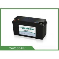 Wholesale 25Kg Rv Deep Cycle Battery , Lifepo4 24v Battery 485*170*245mm from china suppliers