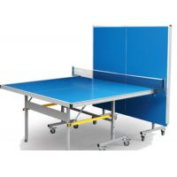 Wholesale AL Steel Outdoor Table Tennis Table , Foldable AP Table Top Movable Sports Ping Pong Table from china suppliers