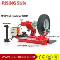 Buy cheap CE approved 220V Heavy duty tire changer truck service equipment for sale CE from wholesalers